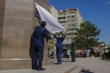 Памятник казахскому батыру Малайсары тархану открыли в Павлодаре