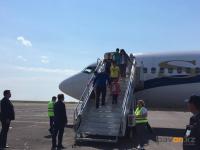 Дети из пострадавшего от взрывов боеприпасов города Арысь приехали в Павлодарскую область