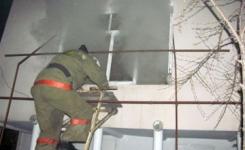 В Павлодаре горела школа-лицей, эвакуировано 48 человек