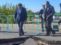 Провал на Кутузовском мосту ликвидируют в кратчайшие сроки