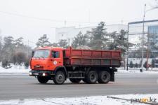 Более 27 тысяч тонн снега вывезли с улиц Павлодара