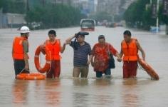 В Китае более миллиона человек пострадали от сильных ливней