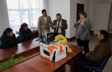 Павлодарские партийцы организовали помощь семье, оставшейся без крыши над головой в селе Ольгино