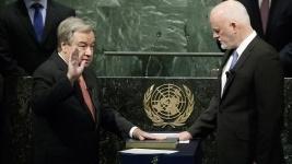 Новый генсек ООН принес присягу перед Генассамблеей