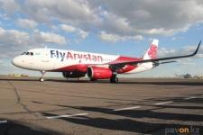 Продолжительность полета из Павлодара в столицу составляет один час