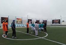 В Павлодарской колонии состоялся футбольный матч между сотрудниками УИС и осужденными