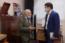 Аким Павлодарской области посетил музей Наума Шафера