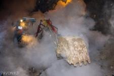 Из-за повреждения трубопровода подача тепла в несколько многоэтажек Павлодара производится на пониженных параметрах