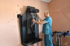Аким области пообещал содействие павлодарскому реабилитологу, который разработал уникальный комплекс для лечения ДЦП у детей