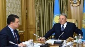 Назарбаев встретился с акимом Павлодарской области