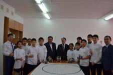 Баянаульские школьники получили в подарок кабинет робототехники