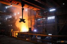 Аксуские металлурги для увеличения выпуска феррохрома расширят размер плавильного цеха