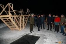 Жители села Павлодарское в Крещение смогут окунуться в собственную купель