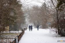 Нестабильную погоду с резкими порывами ветра и снегом прогнозируют синоптики для Павлодара