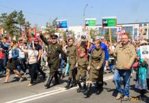 Программа празднования Дня Победы в Павлодаре