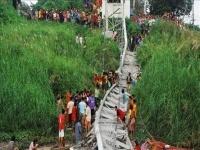 В Таиланде обрушился висячий мост, пять человек погибли и 45 пострадали
