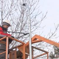 2,5 тысячи фонарей подключат до конца года в павлодарских дворах