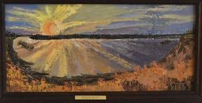 Пейзаж, портрет, барельеф
