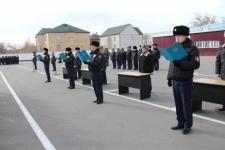 Гарнизон павлодарской полиции пополнился молодыми сотрудниками