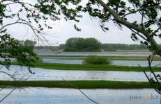Штормовое предупреждение объявлено в Павлодаре