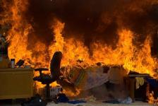 Павлодарские пожарные спасли на пожаре двоих детей и инвалида-колясочника