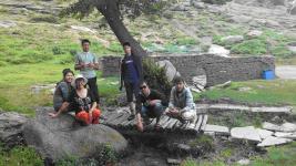 Лучшие студенты-ветеринары отдохнули в Баянауле