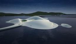 Самый крупный искусственный остров-музей появится в Китае