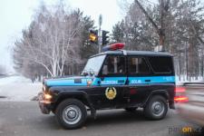 Павлодарские полицейские задержали подозреваемого в нападении на горожанку в машине