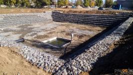 На Втором Павлодаре завершаются работы по строительству резервуара-накопителя