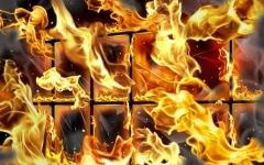 Пожар в ПГУ