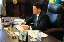 Булат Бакауов провёл первое совещание на посту акима области