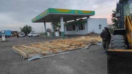 Почти 350 квадратных метров кровли сорвал ветер в Павлодарской области