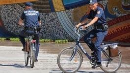 Казахстанские полицейские могут пересесть на велосипеды