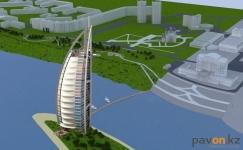В районе павлодарской набережной построят четырехзвездочный отель