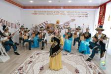 По инициативе акима города в павлодарской школе открылся класс домбры