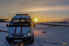 В связи с морозами спасатели ДЧС области планируют закрывать трассы ночью и открывать днем