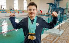 Павлодарский параолимпиец стал чемпионом Казахстана по плаванию