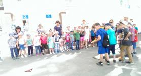 Павлодарским дошколятам показали чудеса технической школы