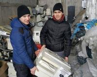 В Павлодаре молодой предприниматель наладил сбор и утилизацию бытовых отходов