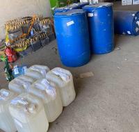 Тысячу литров спиртосодержащей жидкости передали павлодарскому университету для производства антисептиков