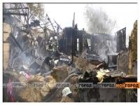 В Актобе сгорело общежитие для семей военнослужащих