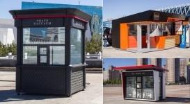 Как будут выглядеть киоски и билетные кассы в Астане