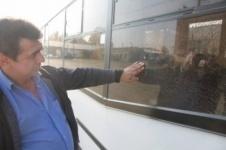 В Уральске хулиганы дважды обстреляли маршрутный автобус