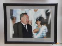 Выставка фотографий президента Казахстана открылась в Павлодаре