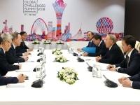 Нурсултан Назарбаев провел встречи с Пан Ги Муном и Франсуа Олландом