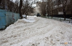 Первыми в новом году обращениями на блог акима стали жалобы на снег