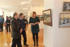 В областном музее открылась выставка тридцати павлодарских художников
