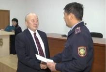 Больше шести миллионов тенге получили в качестве поощрения общественные помощники полицейских