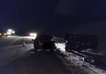 Два человека погибли в результате столкновения авто на трассе в Павлодарской области