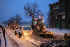 В Павлодаре ожидается метель